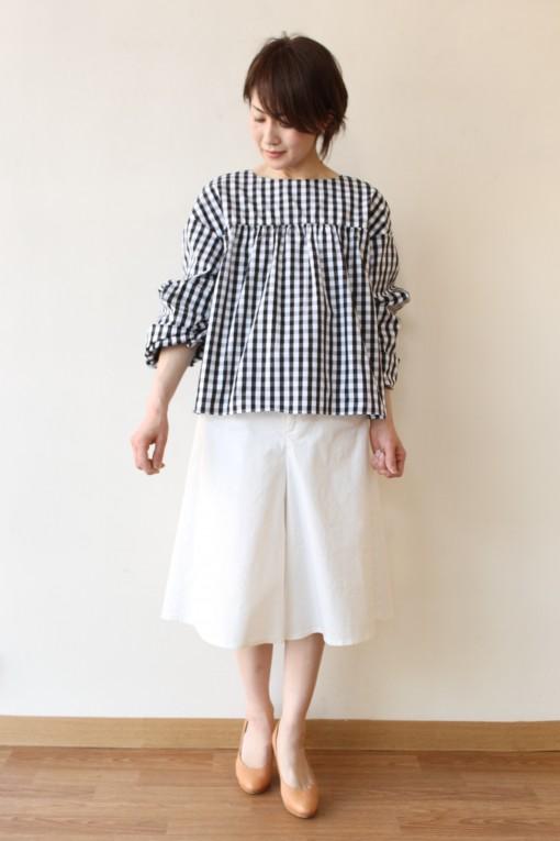 SONO(ソーノ)ボリュームスリーブギンガムチェックシャツ~♪ 画像