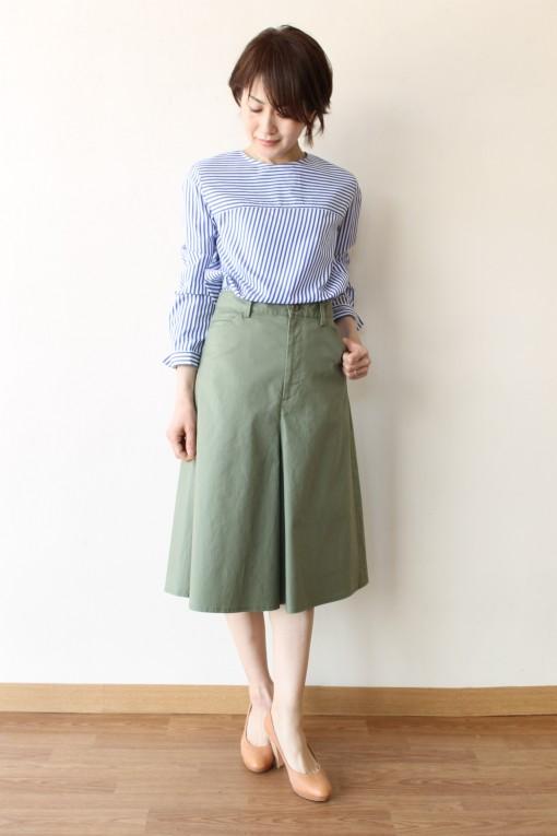 MACPHEE(マカフィー)コットンサイドスリットシャツ~☆ 画像