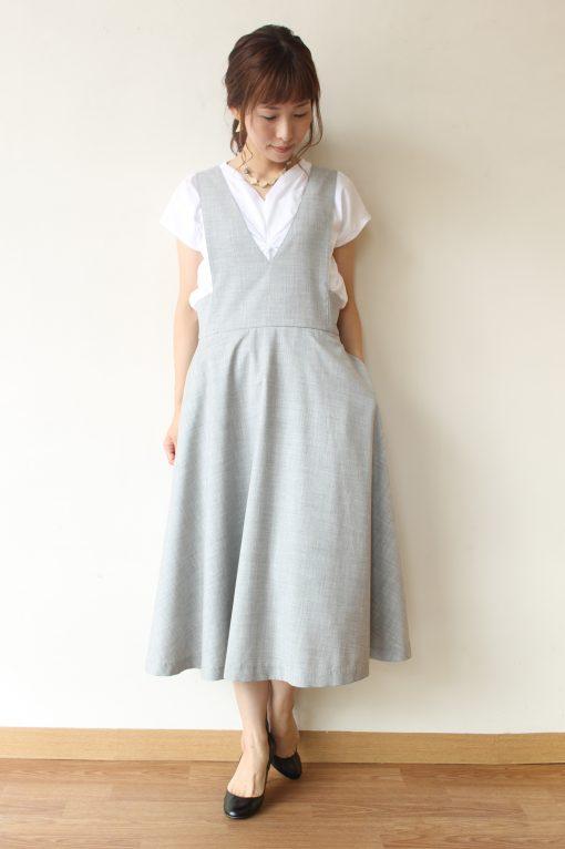 chambre de charme(シャンブルドゥシャーム)コットンジャンバースカート~☆ 画像