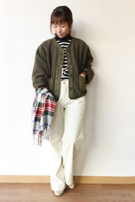 chambre de charme(シャンブルドゥシャーム) ウール混ナッピング モモンガジャケット~☆ 画像
