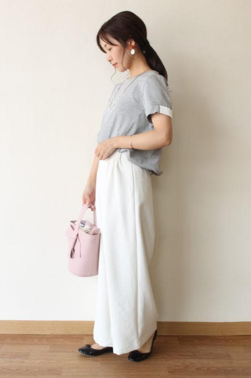 パシオーネ(PASSIONE)布帛切り替えカットソー~☆ 画像
