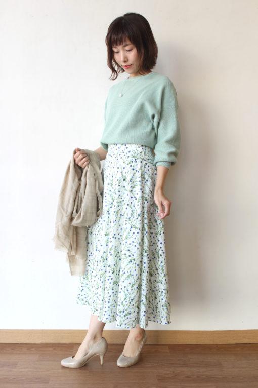 ソノマニア(SONOMANIA)フラワープリントスカート~♪ 画像
