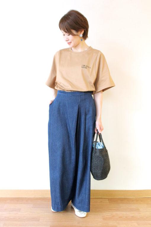 ディニテコリエ(Dignite collier)プリントショートTシャツ~♪ 画像