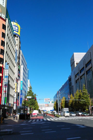 今日の青空はすごい!【新宿】 画像
