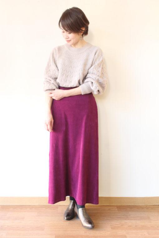 マリードール(MARIED'OR )ストレッチコーデュロイバックギャザースカート~♪ 画像