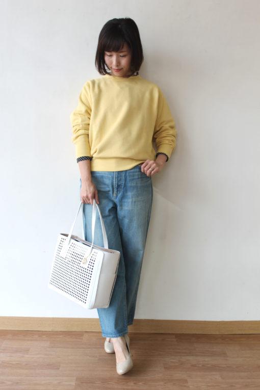 マカフィー(MACPHEE)コットンフリースバックオープンプルオーバー~☆ 画像