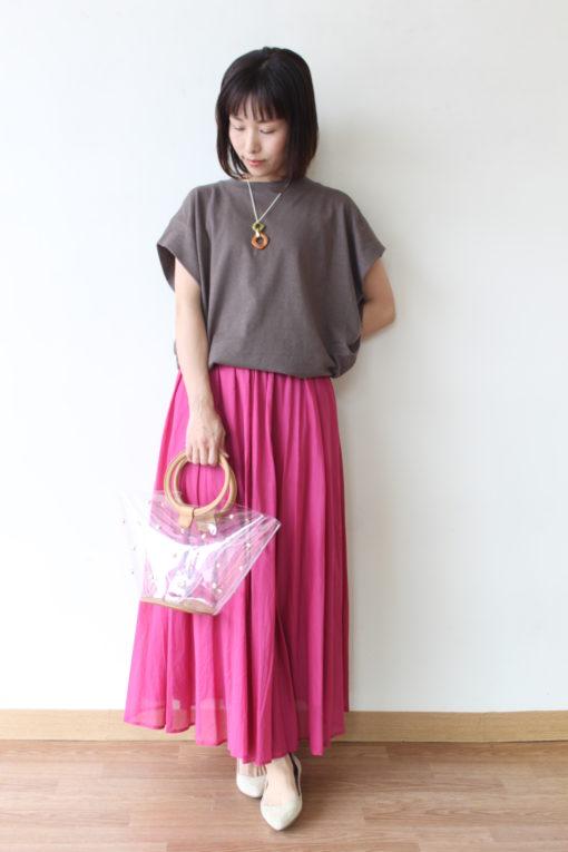 ディニテコリエ(Dignite collier)のギャザーカラースカート 一挙公開~! 画像