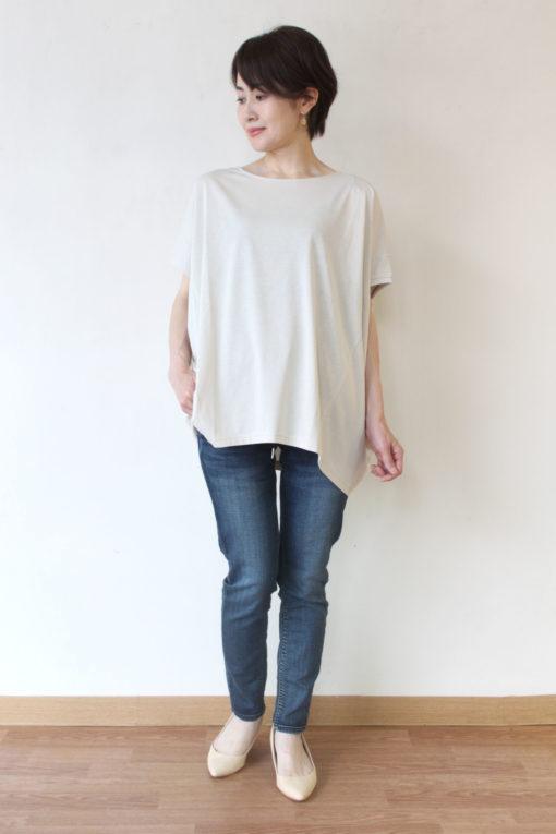 ディニテコリエ(Dignite Collier)ドルマンTシャツ~🎵 画像