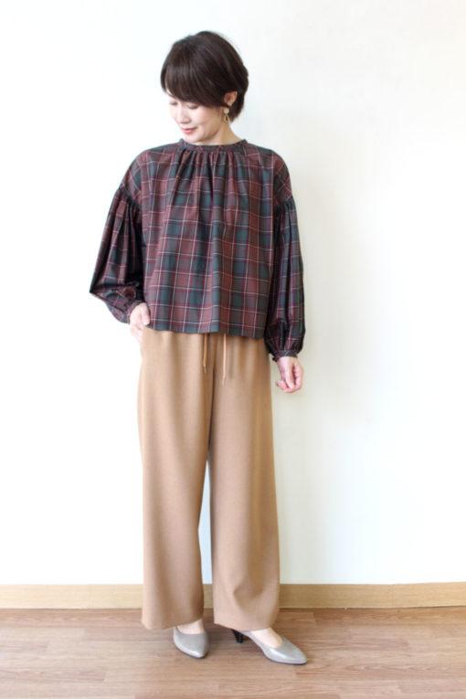 パシオーネ(PASSIONE)プルオーバーチェックシャツ~🎶 画像