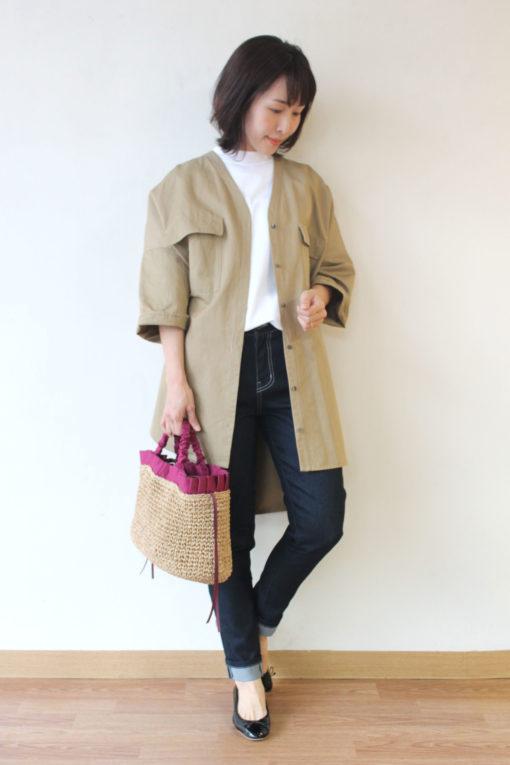 パシオーネ(PASSIONE)ビックポケットシャツジャケット~★ 画像