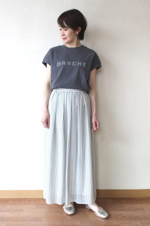 エスペラック(Espeyrac)シルバースタッズフロッキープリントTシャツ~◎ 画像