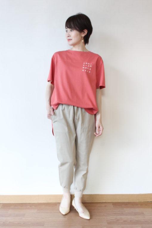 アンナケリー(Anna Kerry)ラウンドヘムロゴTシャツ~☆ 画像
