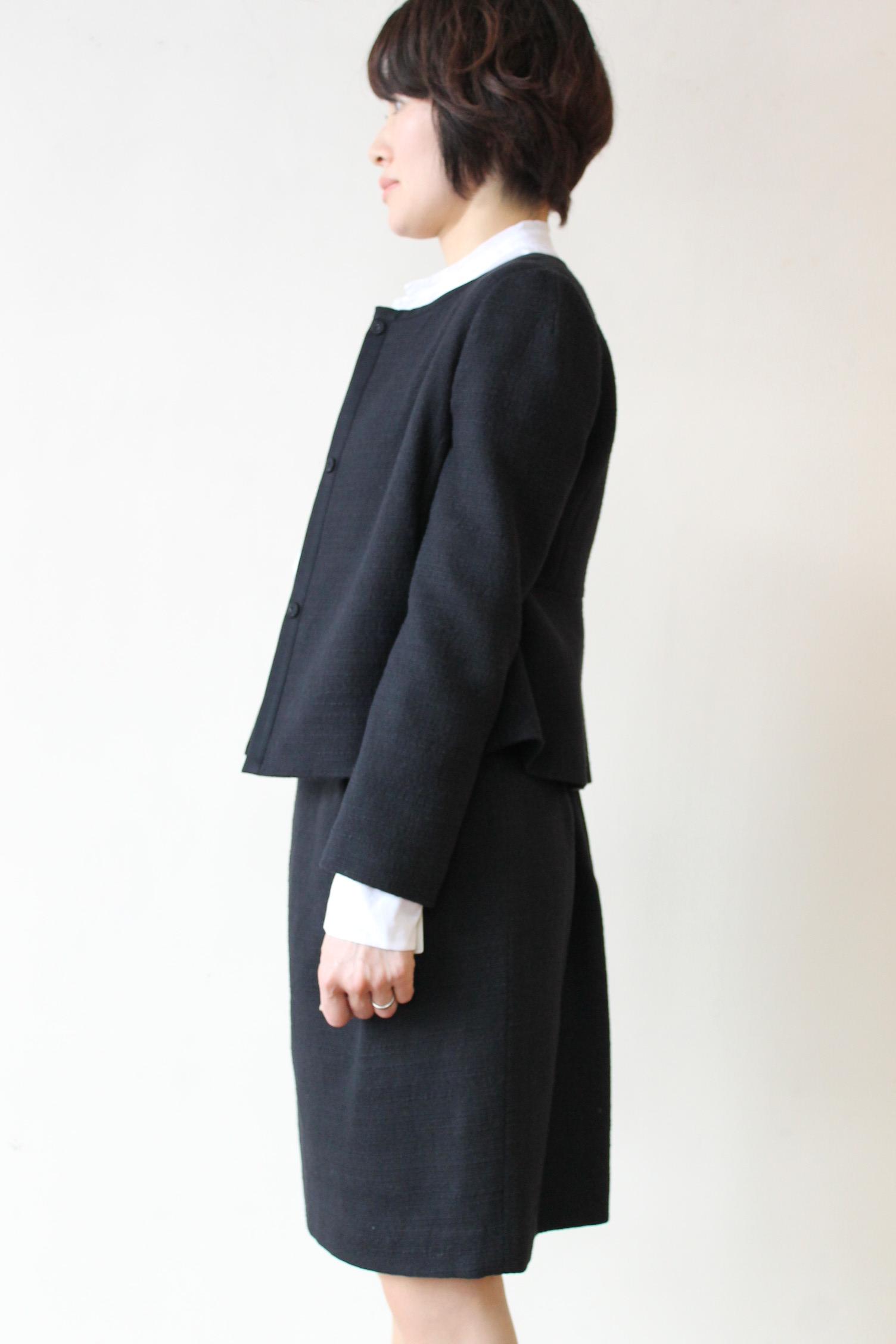BALLSEY(ボールジィ)スラブブッチャークルージャケット&スカート