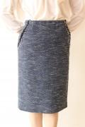 入学式 ママ スーツYangany(ヤンガニー)マザーニーズタイトスカート(セットアップ対応)・ネイビー