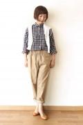 MACPHEE(マカフィー)/リラックスチェックシャツ