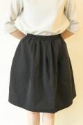 anana(アナナ)スカート風パンツ(スカパン)/ブラック