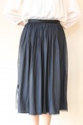 Yangany(ヤンガニー)マザーニーズリバーシブルスカート(セットアップ対応)・ネイビー/入学式 ママ スーツ