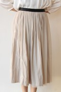 Yangany(ヤンガニー)マザーニーズリバーシブルスカート(セットアップ対応)ベージュ/入学式 ママ スーツ