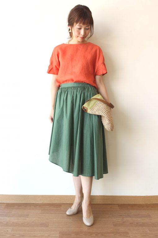chambre de charme(シャンブルドゥシャーム)アシンメトリースカート~♪ 画像