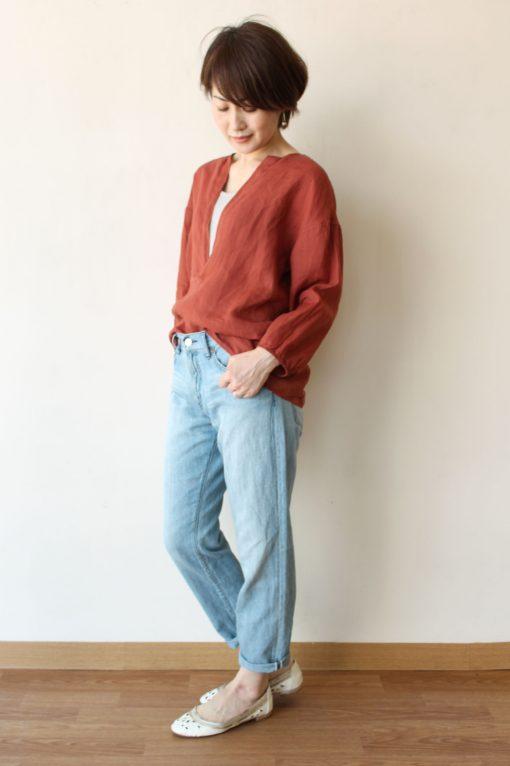 MACPHEE(マカフィー)TOMORROWLAND(トゥモローランド)ピースダイラミースキッパーシャツ~☆ 画像