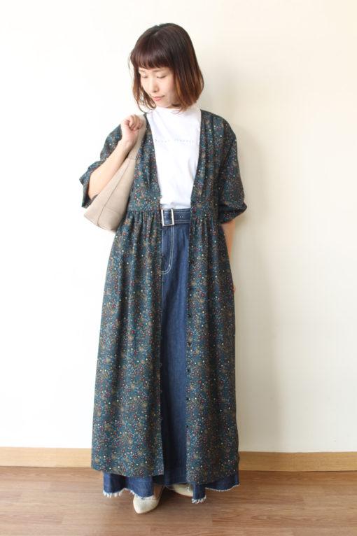 ディニテコリエ(Dignite collier)のデニム×プリーツロングスカート~♪ 画像