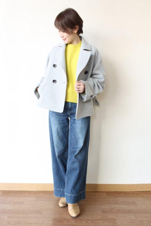 ソーノ(SONO)サステナブルウールショートコート~☆ 画像
