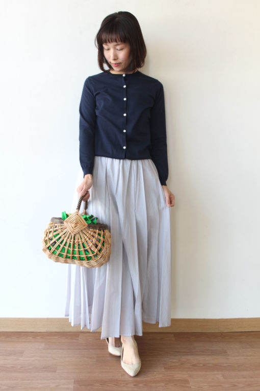 ディニテコリエ(Dignitecollier)ギャザーカラースカートの新色~♪ 画像