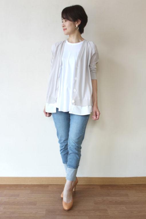 ソーノ(SONO)パネリングシャツカーディガン~♬ 画像