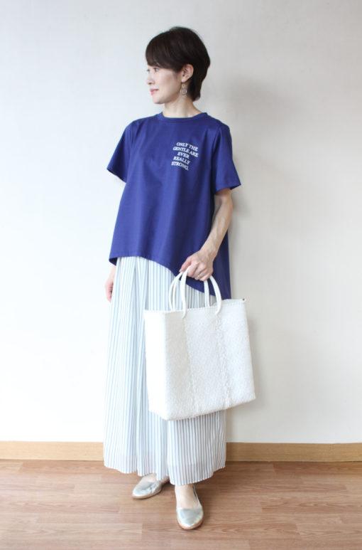 ディニテコリエ(Dignite Collier)背中タックプリントTシャツ~⛵ 画像
