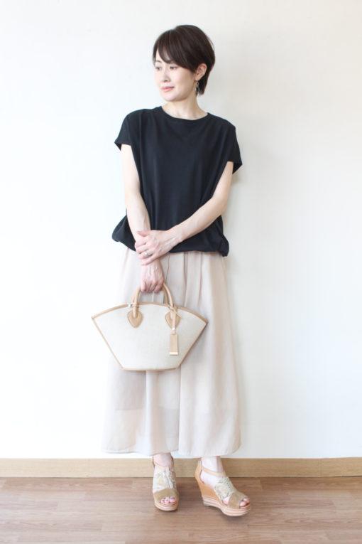 マリードール(MARIED'OR)裾しぼりフレンチスリーブプルオーバー~🌞 画像